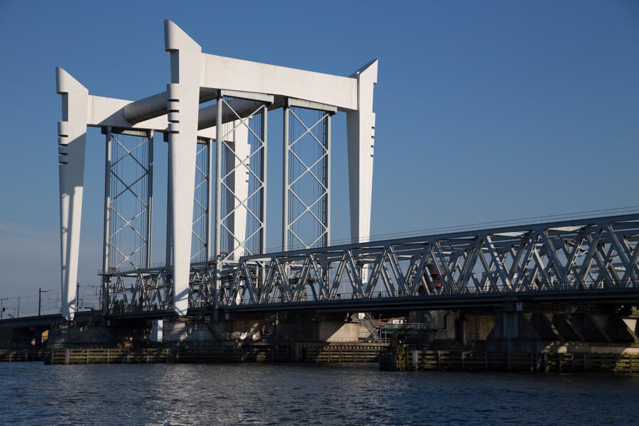 Spoorbrug over Oude Maas, Dordrecht