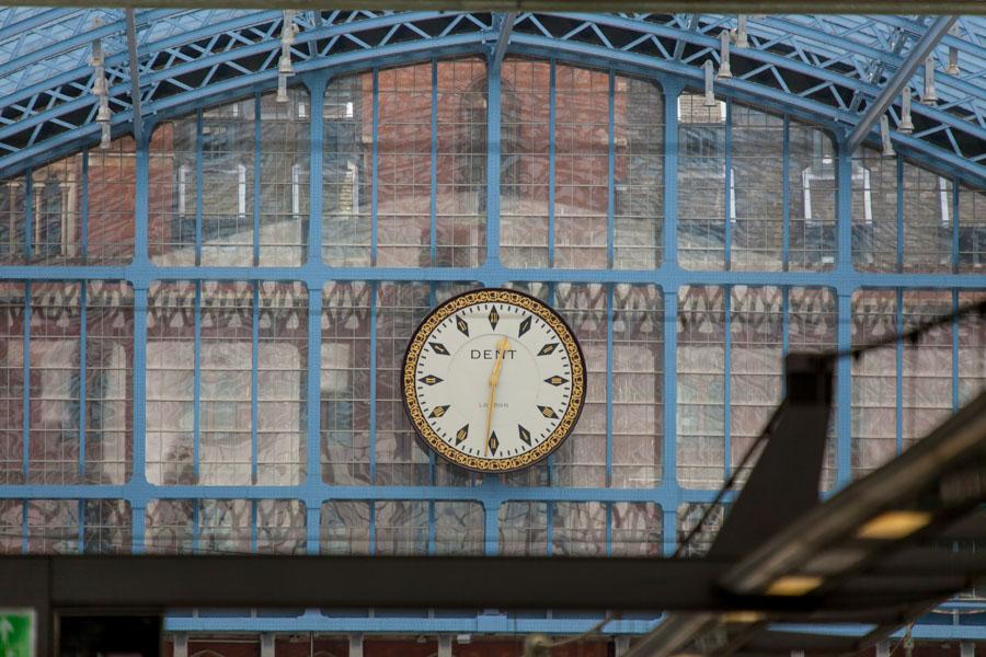 St.Pancras station, Londen