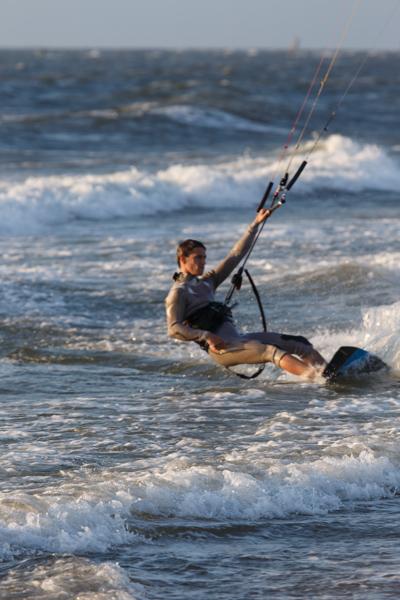 Kite-surfen Scheveningen