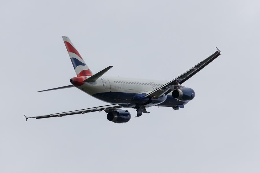 Airbus A320-232  British Airways