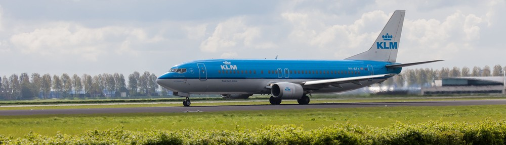 Boeing 737-406 KLM